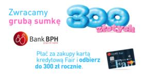 300 zł w bonach Sodexo za wyrobienie karty kredytowej BPH