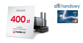 400 zł za wyrobienie karty kredytowej Citibank