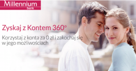 Millenium Zyskaj 360 zl IV edycja
