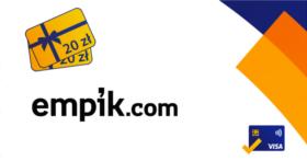 empik 20 zl za platnosc karta VISA