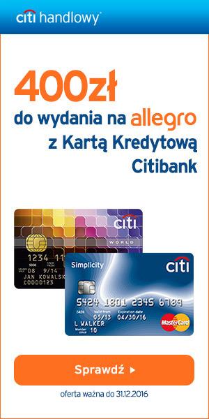 400 zł na zakupy w sklepie morele.net od Citibank