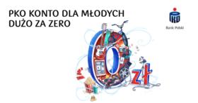 100 zł w gotówce oraz 10 biletów do kina od PKO BP dla osób do 26 lat!